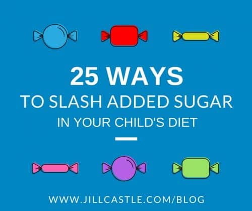 slash added sugar child's diet