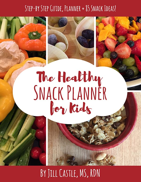 Healthy Snacks for Kids Planner E guide