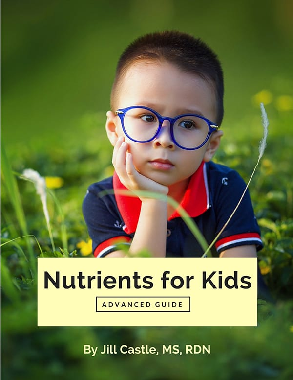 Nutrients for Kids: Advanced Guide book