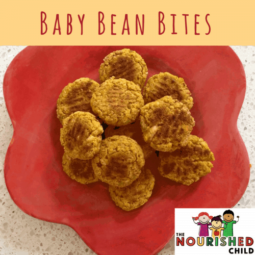 Beans for baby are a nutritious offering. Try this finger food recipe called Baby Bean Bites!