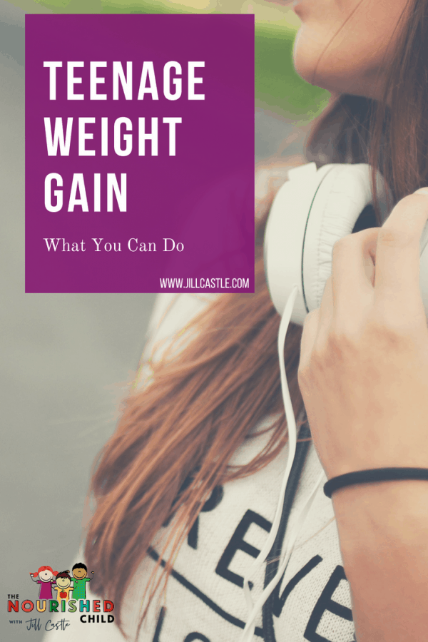 Teenage Weight Gain: What You Can Do to Help