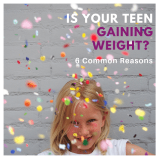 Is your teen gaining weight?