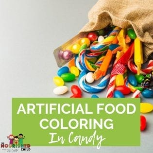 artificial food coloring in candy