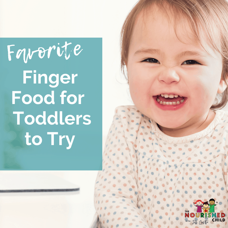 finger food for toddlers to try